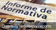 Quaterly regulatory report