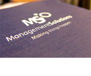 Management Solutions - What we do