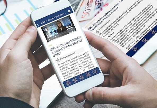FinRegAlerts, the Financial Regulatory Alerts App