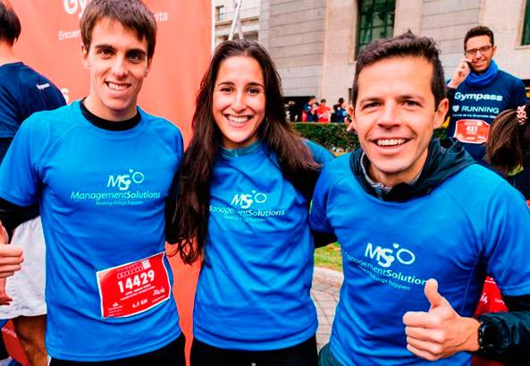 Management Solutions achieves second place in the Madrid Corporate Run