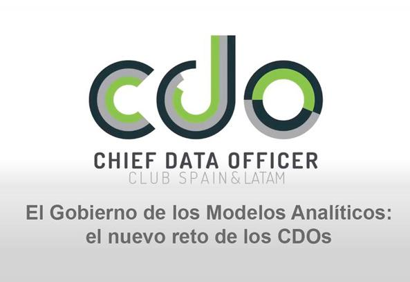 Management Solutions participates as a speaker and moderator in the last CDO Club Spain webinar
