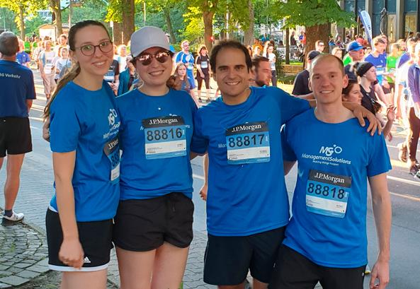 Management Solutions participates at the J.P. Morgan Corporate Challenge in Frankfurt 2019