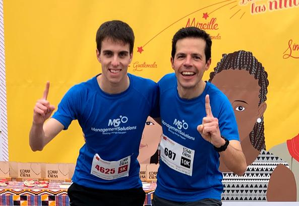 "Doble victoria de Management Solutions en la carrera solidaria ""Corre por una Causa"""