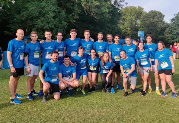 Management Solutions participa do J.P. Morgan Corporate Challenge de Londres