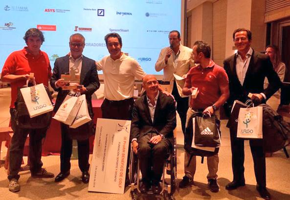 Management Solutions wins the Pro-Am charity golf tournament organized by Fundación Deporte y Desafío