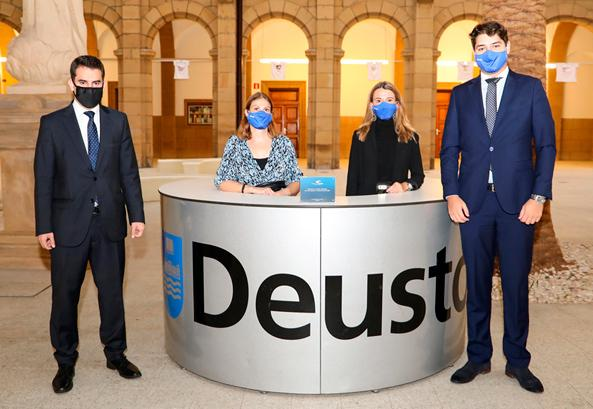 Award to the best Engineering FYP at Deusto for the 2019/2020 academic year