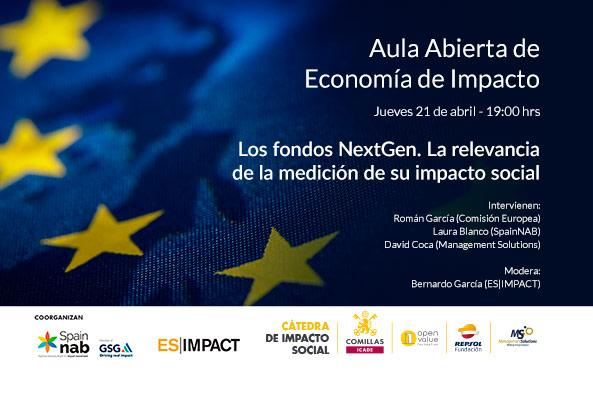 NextGen funds. The relevance of measuring their social impact