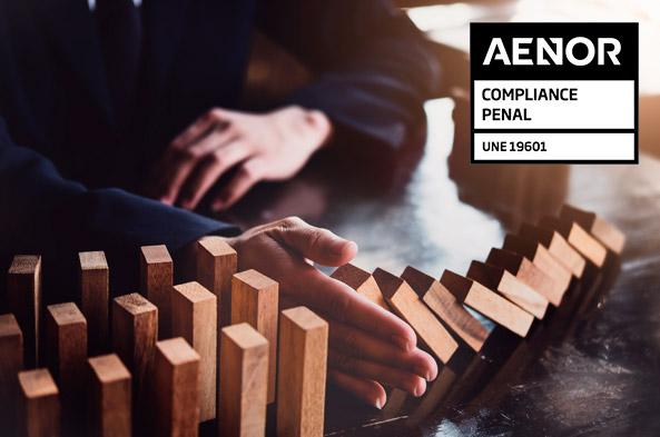AENOR renews the Spanish UNE19601 criminal compliance certification to Management Solutions