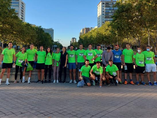 """8th """"Running against cancer"""" race"""