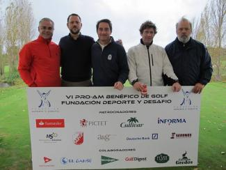 Management Solutions sponsors the Sports and Challenge charity golf tournament