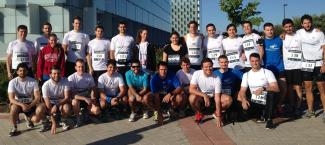 Management Solutions participates in the sixth Pro-niño Race