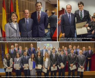 Awards to the best Final Year Projects at Comillas ICAI
