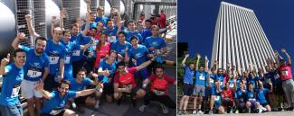 Management Solutions participates in the first Vertigo Race at Torre Picasso