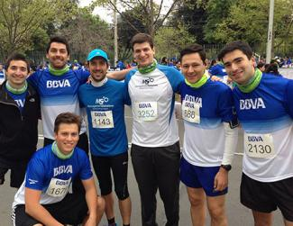 BBVA Solidarity Race in Santiago de Chile