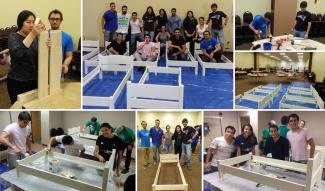 "Management Solutions participates in the ""Make a Difference Day"" organized by Boston Cares"