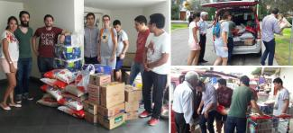 Campaign to support flood victims in Peru