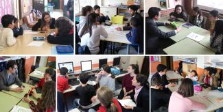 Fundación Créate: coaching in the classroom