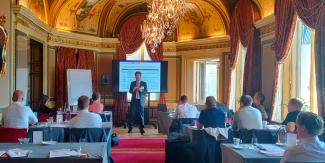 Seminar on MRM in the financial industry in Stockholm
