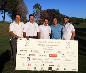 Management Solutions sponsors the Deporte y Desafío charity golf tournament