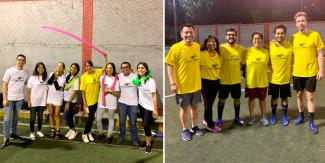 Lima Office mixed soccer championship