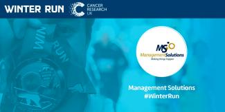 Management Solutions participates in the London Winter Run